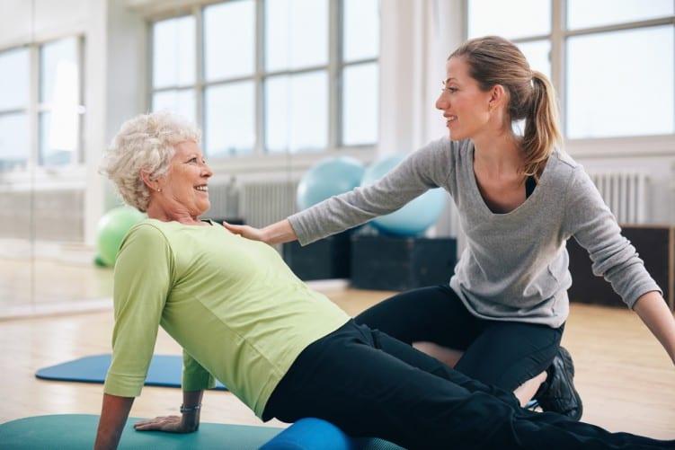 La ginnastica per anziani