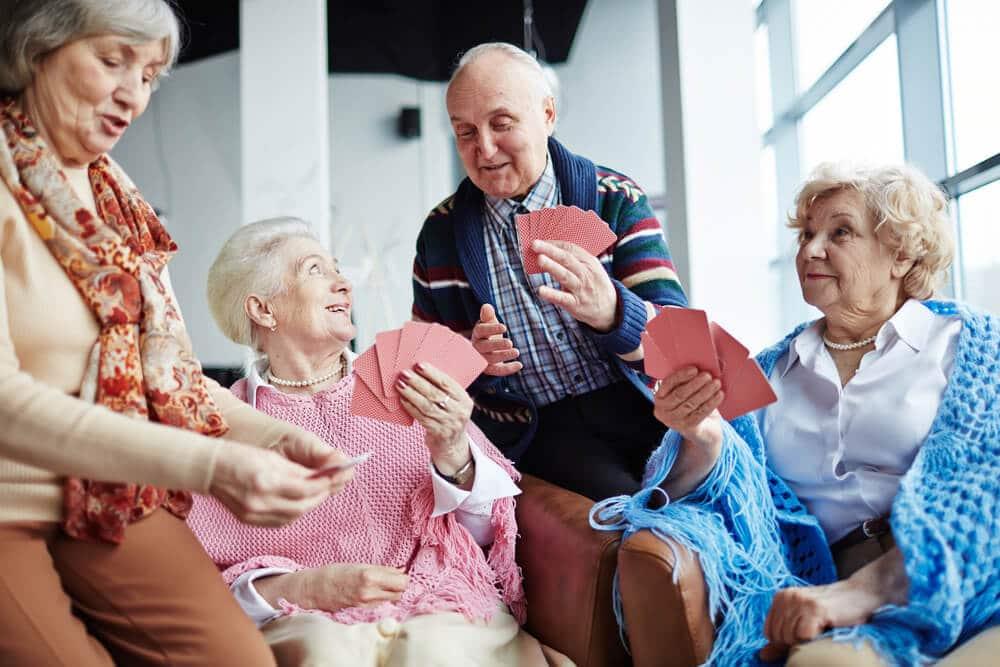 Attività ricreative per anziani